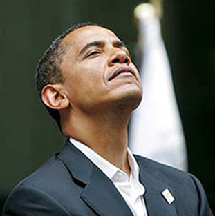 Image result for barack obama nose up